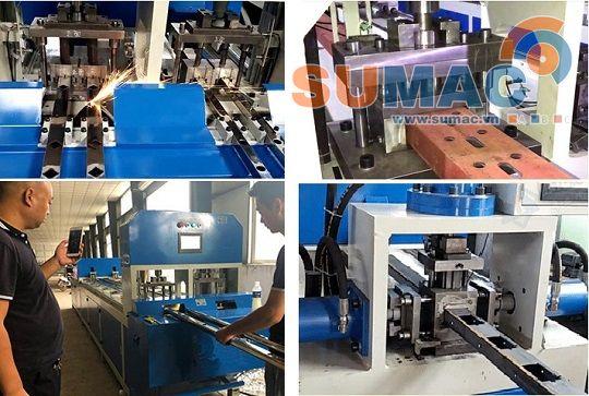 Máy đột ống hộp CNC