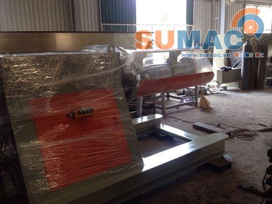 máy bung tôn cuộn 5 tấn