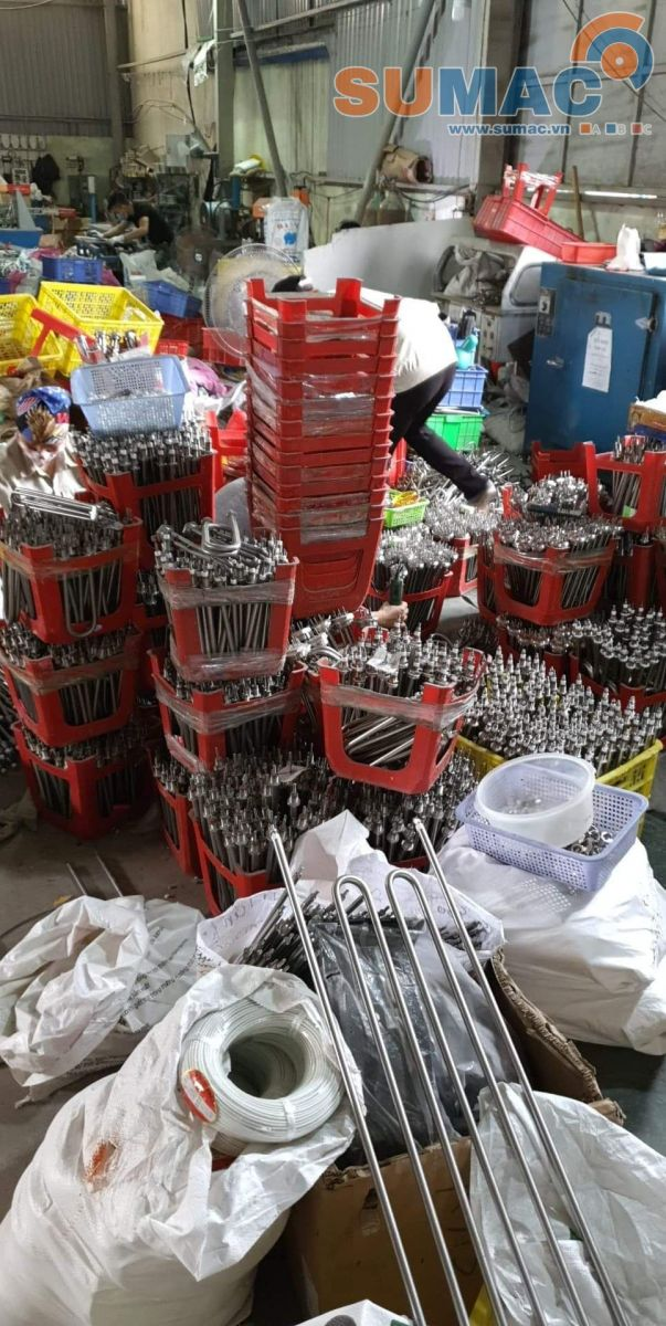 Bóng sấy nhiệt - Kho hàng bóng nhiệt công nghiệp