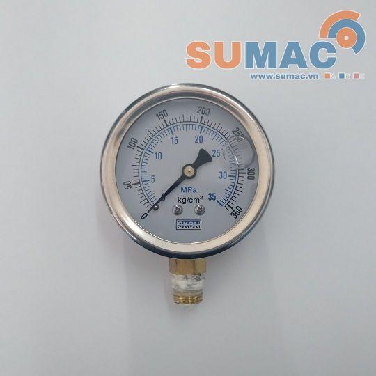 dong-ho-bao-ap-suat-thuy-luc-hydraulic-pressure-gauge