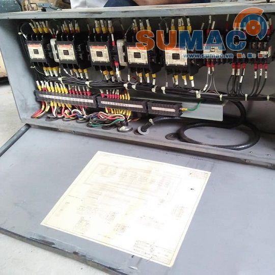 Tủ điện cẩu Hitachi