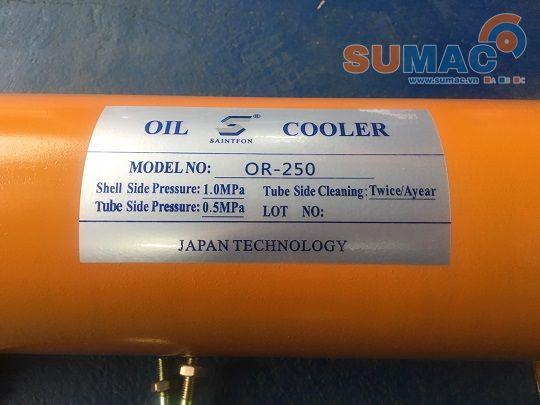 Bộ làm mát dầu thủy lực HDX SAINTFON