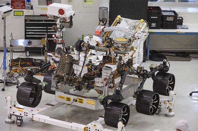 NASA ra mắt xe tự hành Mars 2020, chuẩn bị cho sứ mệnh có con người
