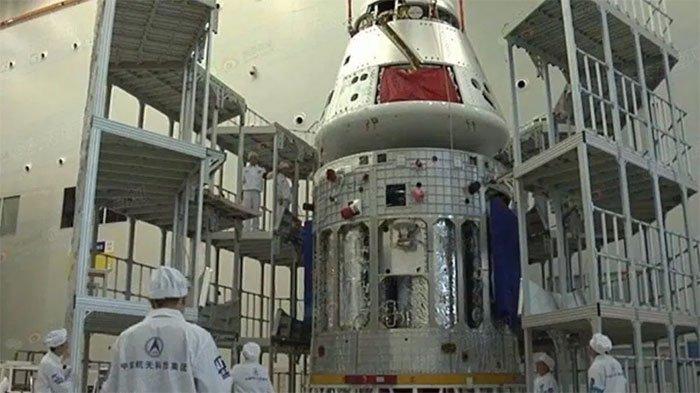 Trung Quốc hé lộ mẫu tàu vũ trụ đưa người lên Mặt trăng