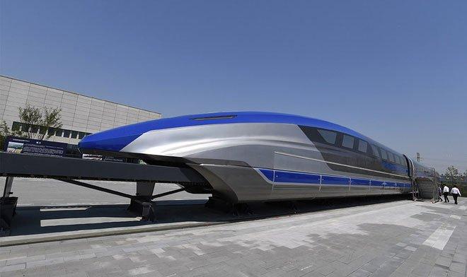 Trung Quốc chạy thử thành công tàu đệm từ tốc độ cao 600km/h