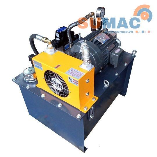 Tổng hợp bộ nguồn thủy lực hay trạm nguồn thủy lực  có công suất vừa và nhỏ phổ biến hiện nay