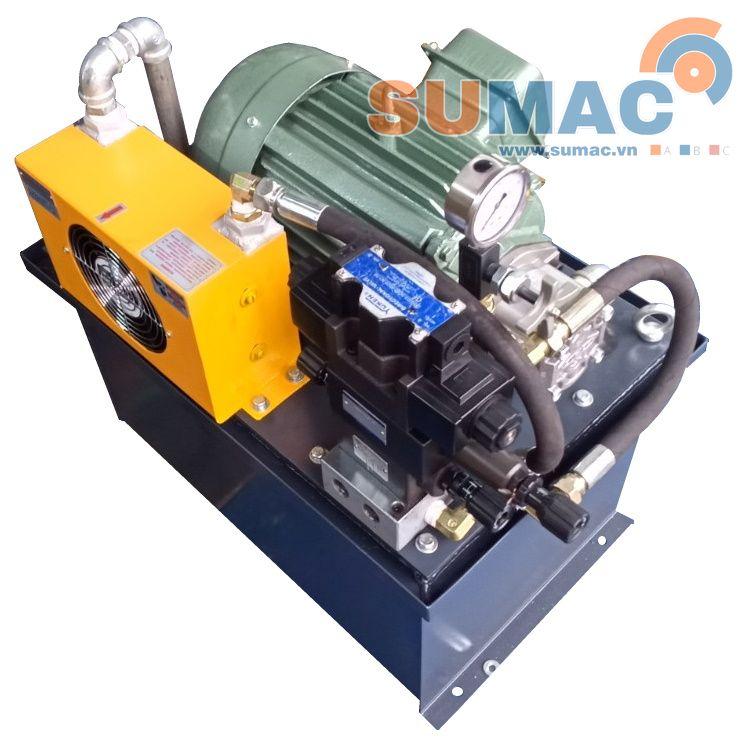 ứng dụng động cơ điện 3 pha trong bộ nguồn thủy lực