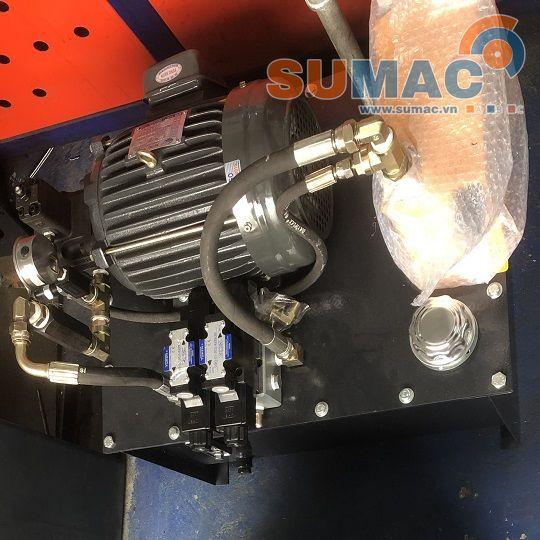 bộ nguồn thủy lực cho máy ép phế liệu