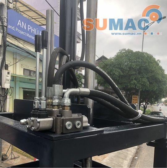 xylanh thủy lực cho máy ép phế liệu