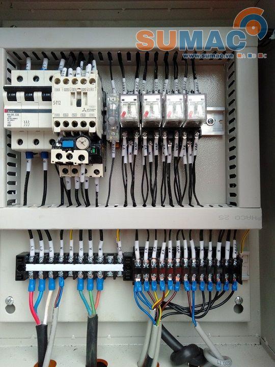 Tủ điện điều khiển máy xả tôn cuộn