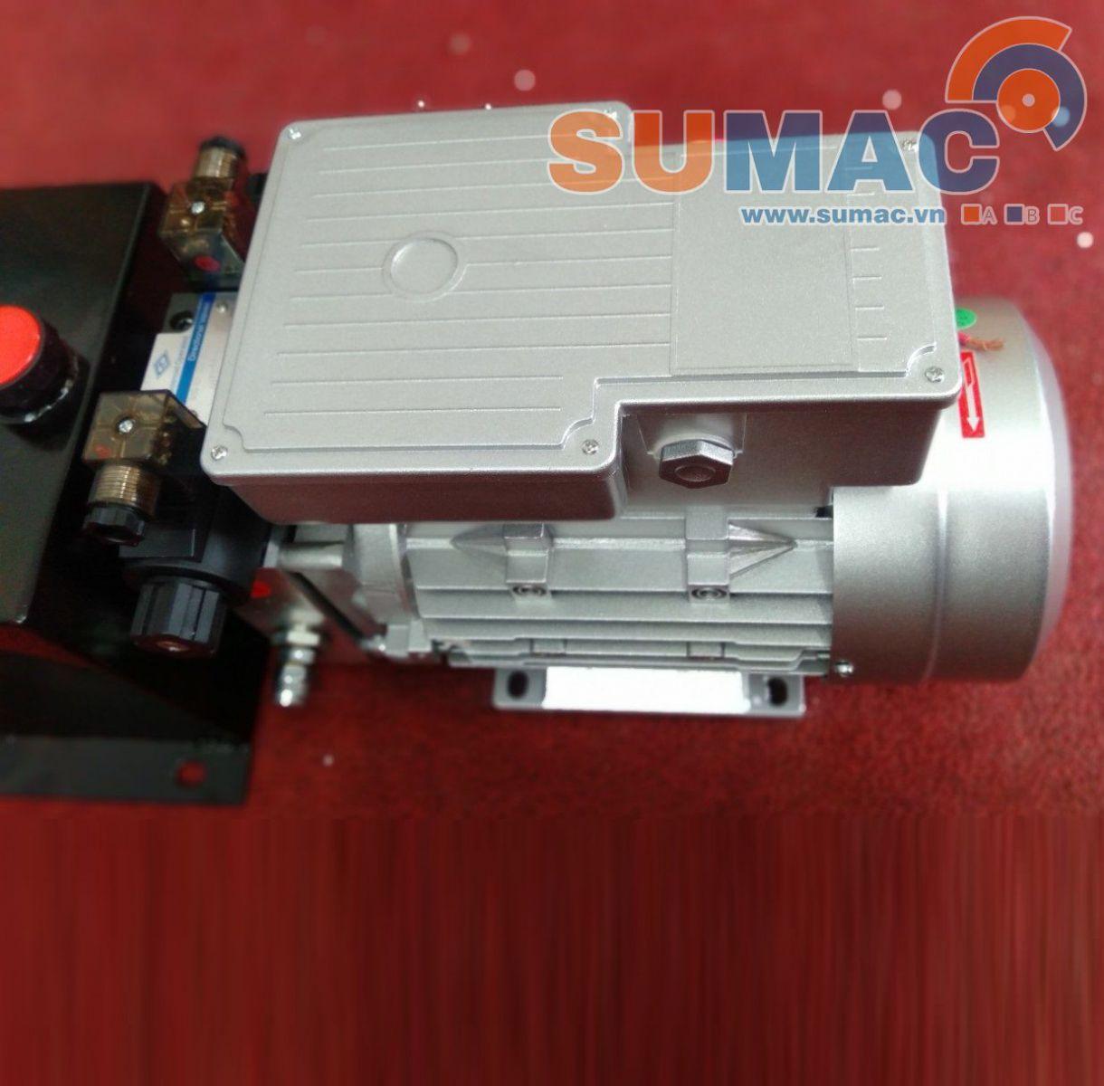 Bộ nguồn thủy lực mini 220V - bộ nguồn mini lắp bàn nâng hàng