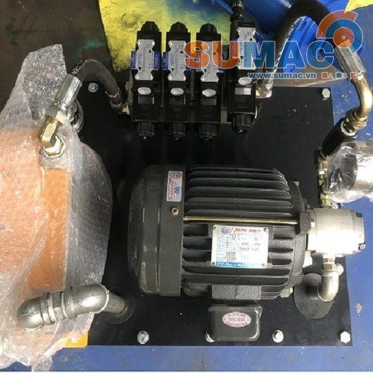 Trạm nguồn thủy lực 1.5kw - Động cơ cốt âm VTC