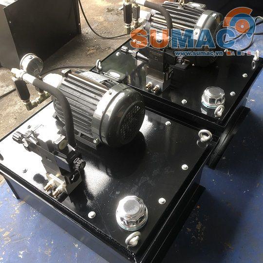 Bộ nguồn thủy lực 2.2kw- Động cơ cốt âm VTC